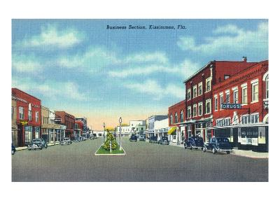 Kissimmee, Florida - Business Section View