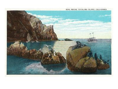 Santa Catalina Island, California - View of the Seal Rocks
