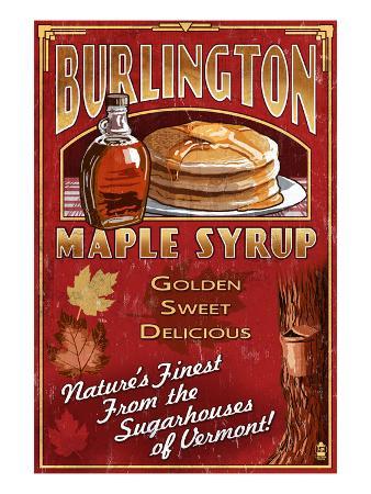 Burlington, Vermont - Maple Syrup