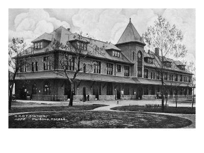Parsons, Kansas - Missouri, Kansas, and Texas Railroad Station