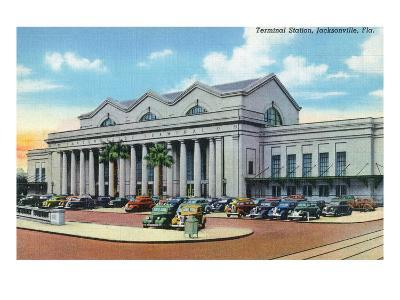 Jacksonville, Florida - Exterior View of Terminal Train Station
