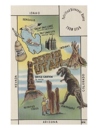 Sites of Scipio, Utah