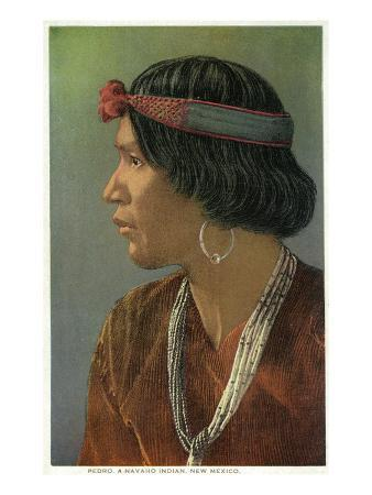 New Mexico - Portrait of Pedro, a Navajo Man