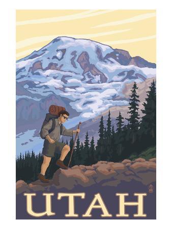 Utah - Mountain Hiker