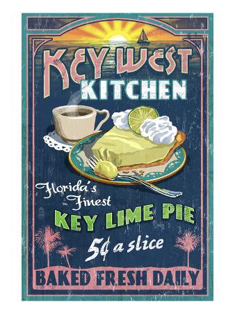 Key West, Florida - Key Lime Pie