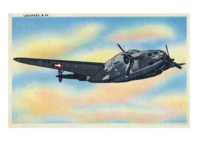 View of the Lockheed B-34