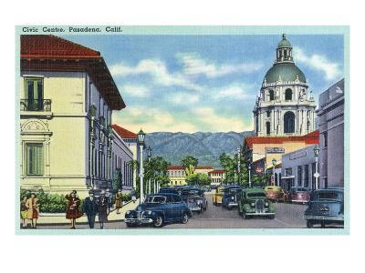 Pasadena, California - Civic Centre Scene