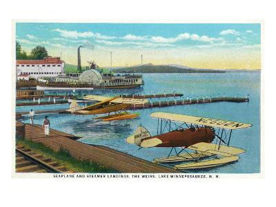 Lake Winnepesaukee, New Hampshire - Seaplanes at the Weirs