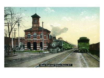 Elmira, New York - Union Railroad Station