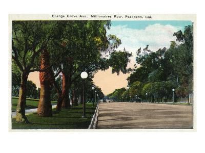 Pasadena, California - Millionaire Row, Orange Grove Avenue