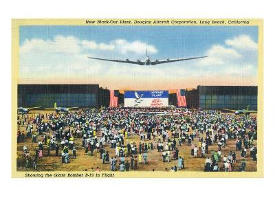 Long Beach, California - Douglas Aircraft Corp. New Black-Out Plant