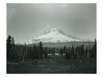 Mt. Hood, Oregon - Horse Meadow and Camp Photograph