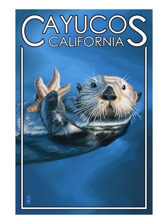 Cayucos, California - Sea Otter
