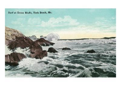 York Beach, Maine - Union Bluffs Surf Scene