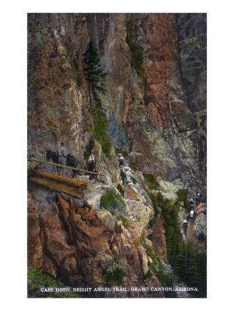 Grand Canyon Nat'l Park, Arizona - Cape Horn, Bright Angel Trail