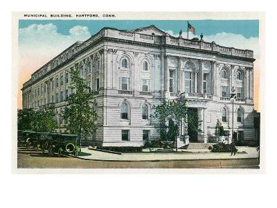 Hartford, Connecticut - Municipal Building Exterior
