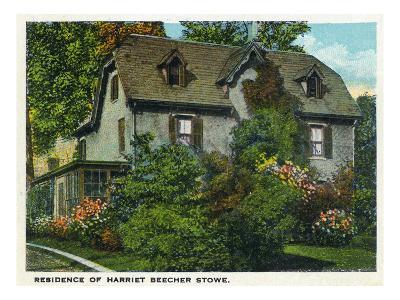 Hartford, Connecticut - Harriet Beecher Stowe House Exterior
