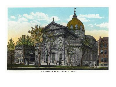 Philadelphia, Pennsylvania - St. Peter and St. Paul Cathedral Exterior