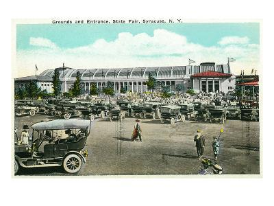 Syracuse, New York - State Fair Grounds and Entrance View