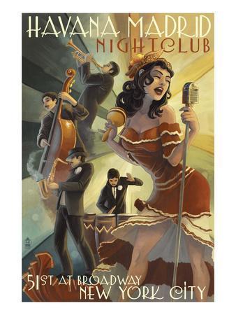 New York City, NY - Havana Madrid Nightclub