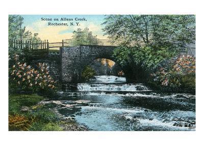 Rochester, New York - Allen's Creek Scene