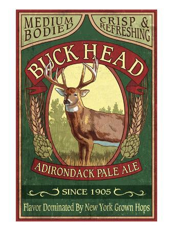 The Adirondacks, New York State - Buck Head Ale