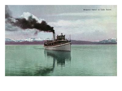 Lake Tahoe, California - Steamer Tahoe Scene