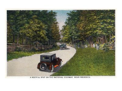 Maryland - National Road Rest Spot Near Frederick