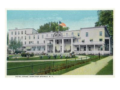 Saratoga Springs, New York - Hotel Gross Exterior View