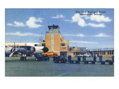 Indianapolis, Indiana - Weir Cook Municipal Airport Scene
