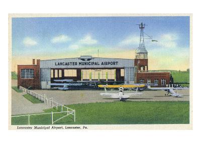 Lancaster, Pennsylvania - Municipal Airport Scene