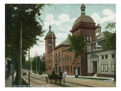 Saratoga Springs, New York - Convention Hall Exterior View