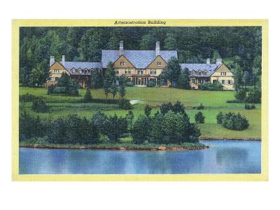 Allegany State Park, New York - Exterior View of the Administration Building