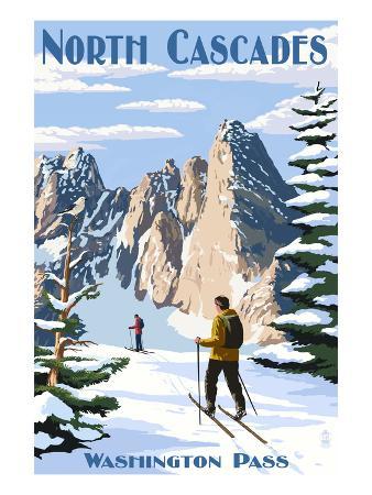 North Cascades, Washington - Cross Country Skiing