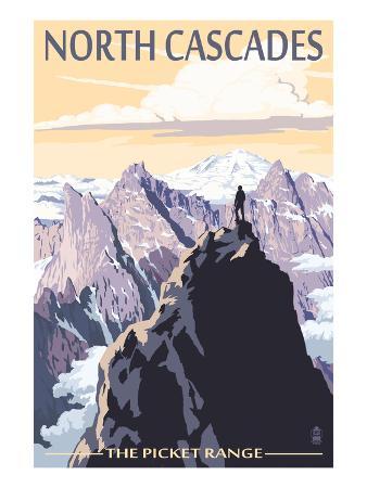 North Cascades, Washington - Mountain Peaks