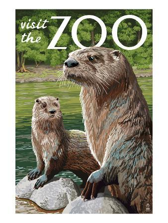 River Otter - Visit the Zoo