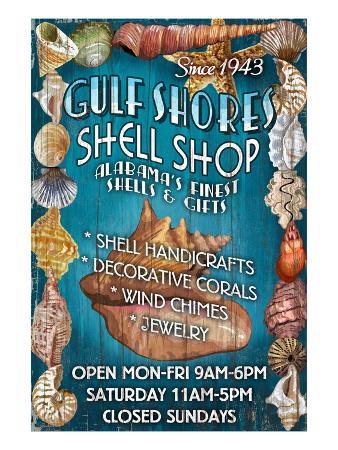 Gulf Shores, Alabama - Shell Shop