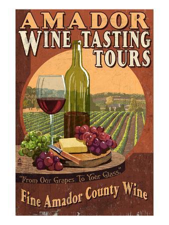 Jackson, California - Wine