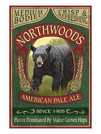 Northwoods, Maine Black Bear Ale