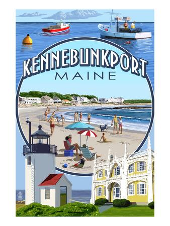 Kennebunkport, Maine - Montage Scenes
