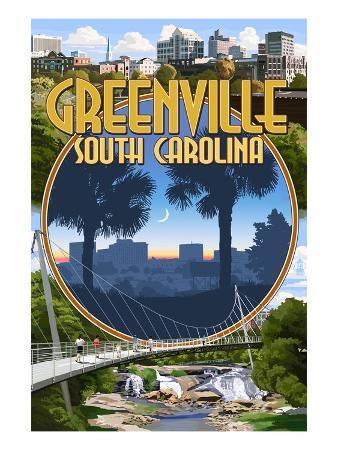 Greenville, South Carolina - Montage
