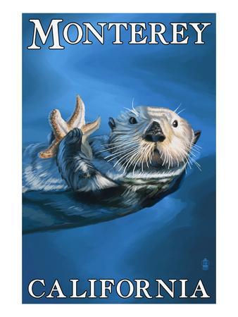 Monterey, California - Sea Otter