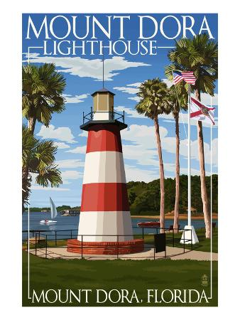 Mount Dora, Florida - Lighthouse