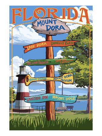 Mount Dora, Florida - Sign Destinations