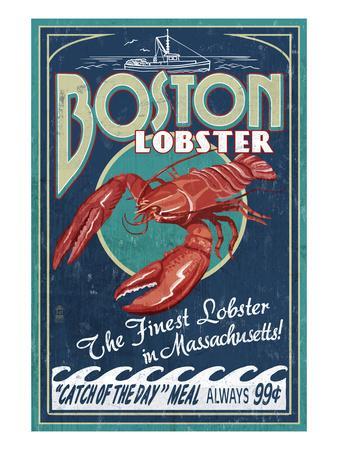 Boston, Massachusetts - Lobster