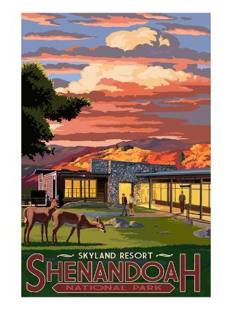 Shenandoah National Park, Virginia - Skyland Resort