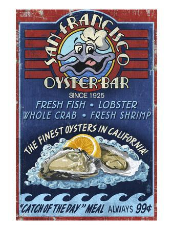 San Francisco, California - Oyster Bar