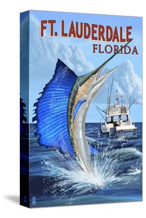 Ft. Lauderdale, Florida - Sailfish Scene