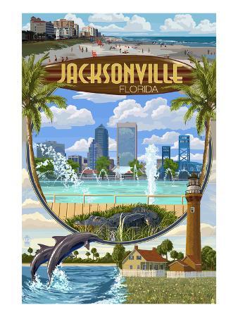 Jacksonville, Florida - Montage Scenes