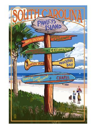 Pawleys Island, South Carolina - Sign Destinations